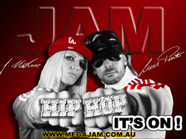 Mega Jam Street Dance Hip Hop Class with Jasmine Meakin and Luis Pinto
