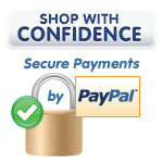 Shop with Confidence - Secure Payments by PayPal