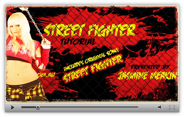 Preview of Street Figther Hip Hop Dance Tutorial by Jasmine Meakin