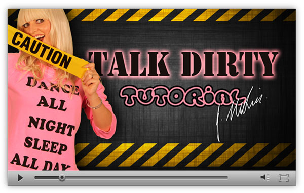 Preview of Talk Dirty Hip Hop Dance Tutorial by Jasmine Meakin