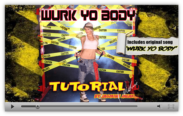 Preview of Wurk Yo Body Hip Hop Dance Tutorial by Jasmine Meakin